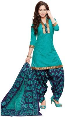 RK Style Cotton Printed Salwar Suit Dupatta Material(Un-stitched)