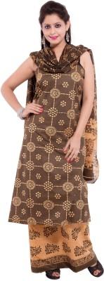 Veera Paridhaan Cotton Printed Salwar Suit Dupatta Material