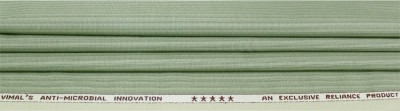Vimal Cotton Polyester Blend Striped Trouser Fabric