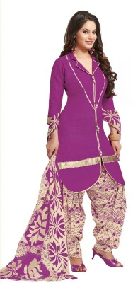 Aliya Synthetic Printed Salwar Suit Dupatta Material