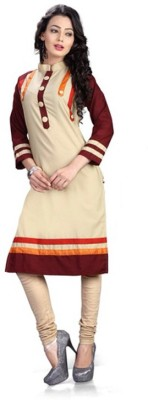 Vistara Lifestyle Cotton Embroidered Kurti Fabric