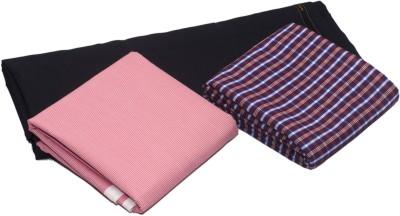 Skumars Cotton Polyester Blend Printed Shirt & Trouser Fabric