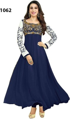 G-3 Fashion Zone Georgette Embroidered Salwar Suit Material