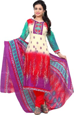 Avtrendz Cotton Printed Salwar Suit Dupatta Material