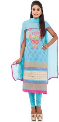 Chhabra 555 Cotton Self Design Dress/Top Material