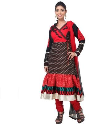 Aapno Rajasthan Cotton Printed Semi-stitched Salwar Suit Dupatta Material