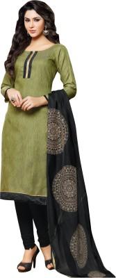 Fabgruh Jute Embroidered Salwar Suit Dupatta Material