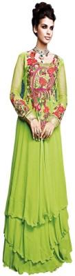 Priya Georgette Embroidered Salwar Suit Material