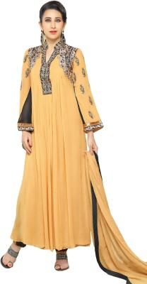 MF Georgette Embroidered Salwar Suit Dupatta Material