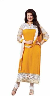 Uttam Vastra Cotton Embroidered Salwar Suit Material