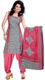 FastColors Net Printed Salwar Suit Dupat...