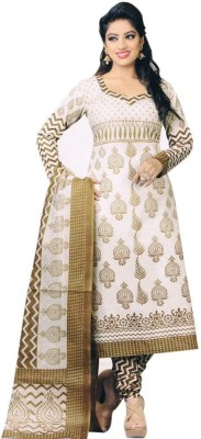 Shopping Queen Cotton Printed Salwar Suit Material