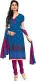 Vibes Chanderi Self Design Salwar Suit D...