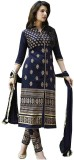 Rockchin Fashions Georgette Embroidered ...