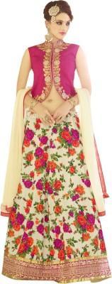 Sai Fashion Silk Embroidered Lehenga Choli Material