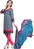 Saara Crepe Printed Salwar Suit Dupatta ...