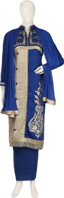 Aroras Fashion Rayon Floral Print Semi-stitched Salwar Suit Dupatta Material