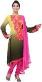 Aapno Rajasthan Georgette Floral Print S...