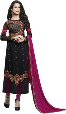 Ecoco Fashion Cotton Embroidered Dress/Top Material
