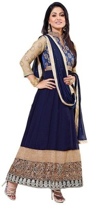 Leepsprints Embroidered Kurta & Churidar