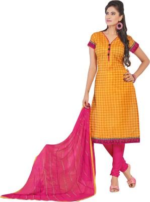 Khushali Chanderi Self Design, Printed Salwar Suit Dupatta Material