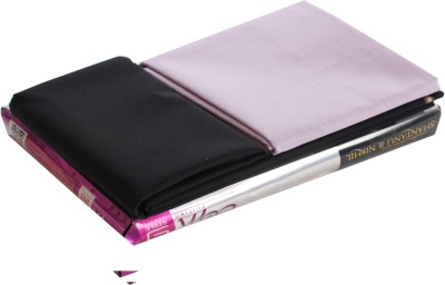 OCM Cotton Polyester Blend Solid Shirt & Trouser Fabric