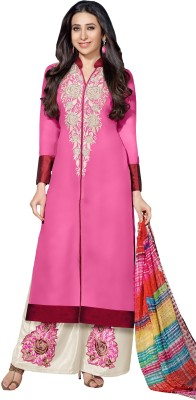 MF Georgette Embroidered Salwar Suit Dupatta Material