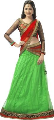 Admyrin Self Design Women's Lehenga, Choli and Dupatta Set