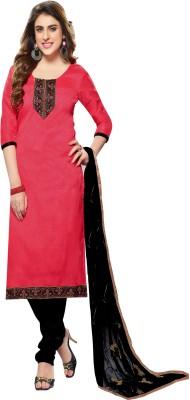 Jiya Silk Self Design, Embroidered Salwar Suit Dupatta Material