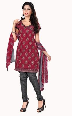 Vimush Fashion Cotton Printed Dress/Top Material