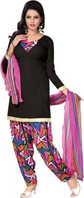 Trendz Apparels Cotton Printed Dress/Top Material