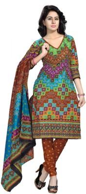Luckies Cotton Printed Salwar Suit Dupatta Material