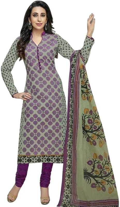 Shree Ganesh Cotton Self Design Salwar Suit Dupatta Material(Un-stitched)