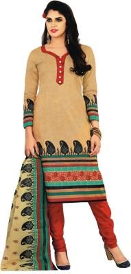 Sandeep Textiles Cotton Printed Salwar Suit Dupatta Material