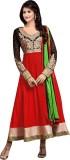 NRF Georgette Embroidered Salwar Suit Du...