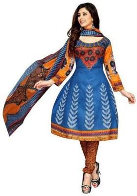 Parishi Fashion Cotton Printed Dress/Top Material