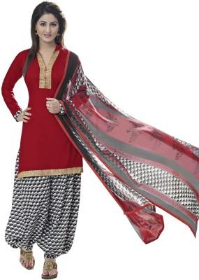 Zombom Cotton Printed Salwar Suit Dupatta Material