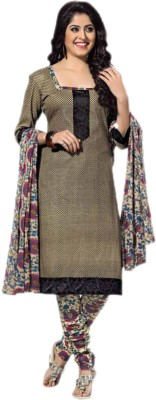 HANIYA,S BOUTIQUE Synthetic Georgette Self Design Salwar Suit Dupatta Material