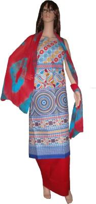 Amin Cotton Printed Salwar Suit Dupatta Material