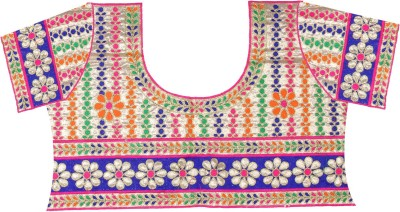 PurpleYou Cotton Embroidered Blouse Material