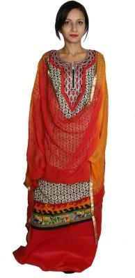 Estelo Cotton Polyester Blend Embellished Salwar Suit Dupatta Material