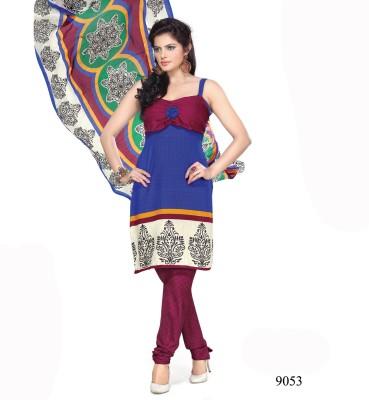 Shoppie Zone Cotton Printed Salwar Suit Dupatta Material