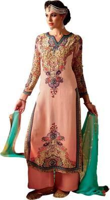 Meera Georgette Embellished Salwar Suit Dupatta Material