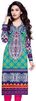 SAMAYCREATIONSTORE Cotton Printed Kurti Fabric