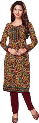 Salwar Studio Cotton Floral Print Kurti Fabric