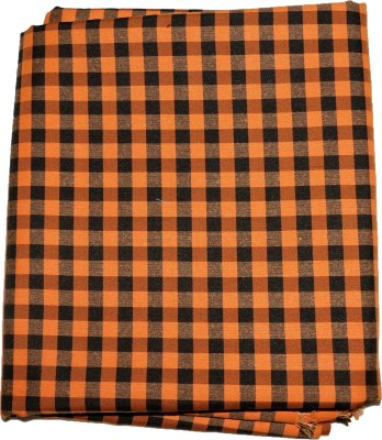 MS Fashion Cotton Polyester Blend Checkered Shirt Fabric