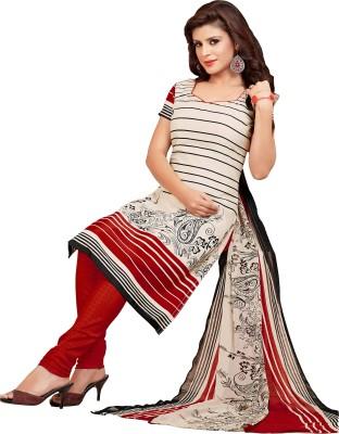 Khushali Silk Self Design, Printed Salwar Suit Dupatta Material