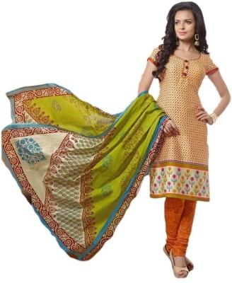 Rukmani Cotton Printed Salwar Suit Dupatta Material