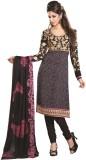 Kashish Lifestyle Crepe Embellished Semi...