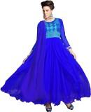Khoobee Net Embroidered Salwar Suit Dupa...